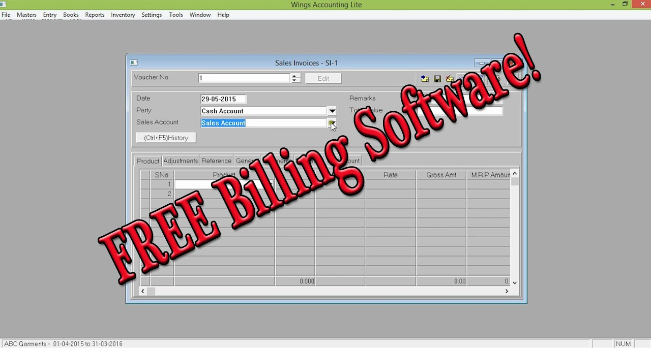 FREE Best Retail Shop Billing Software Guide   YouTube  Free Excel Invoice Software