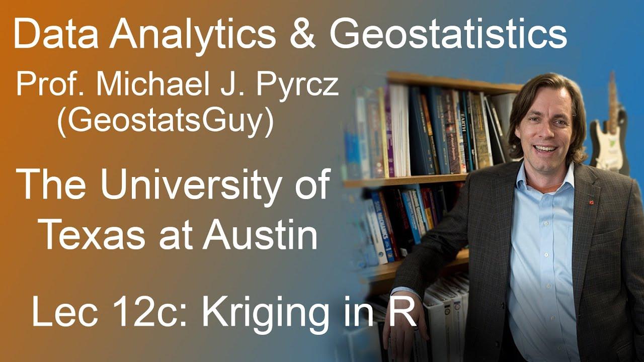 12c Geostatistics Course: Kriging in R