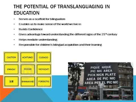 Ofelia Garcia: Education, Multilingualism and Translanguaging in the 21st Century