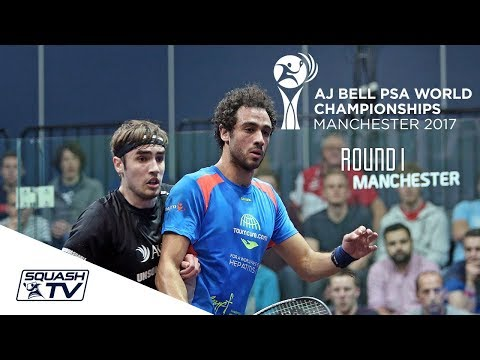 Squash: AJ Bell PSA World Championships 2017 - Men\'s Rd 1 Roundup [Pt.1]