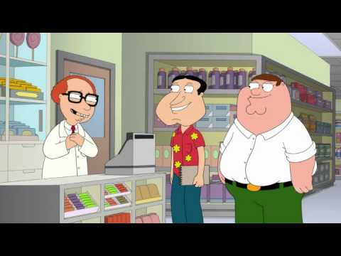 Family Guy credit card debt
