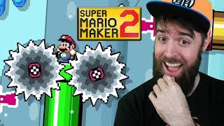 This Level May Not Be AS HARD As We Thought... [SUPER MARIO MAKER 2]