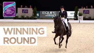 Isabell Werth remains the no.1 in Dressage! | Winning Round | FEI World Cup™ Dressage Final