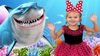 Baby Shark | Kids Songs and more Nursery Rhymes | Animal Songs from Sweet Emily