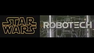 Star Wars vs Robotech (Intro comparison)