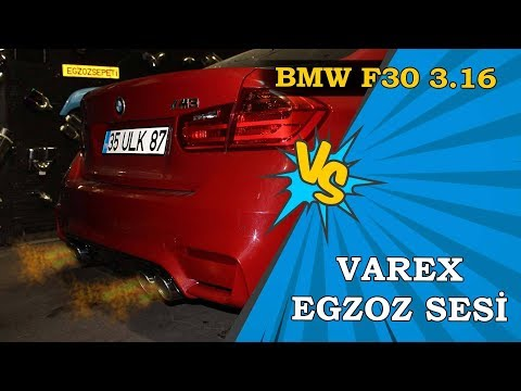 Bmw F30 3.16i, Kumandalı Varex Egzoz Sesi