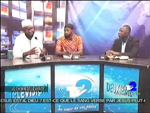 DÉBAT INTER-RELIGIEUX : DIEU MEURT - IL? ET JÉSUS ÉTAIT - IL CRUCIFIÉ EN FRANÇAIS À LA TV2 (16/03/19