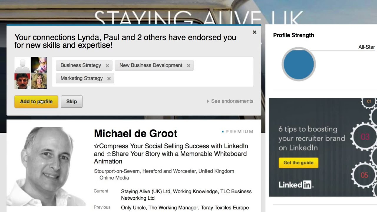 How to Avoid Adding New Skills to Your LinkedIn Profile