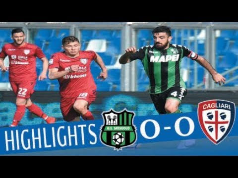 Sassuolo - Cagliari 0-0 - Highlights - Giornata 24 - Serie A TIM 2017/18