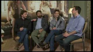 The Hangover Cast play an Irish Game