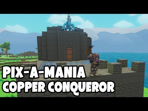 PIXARK PIX-A-MANIA The Copper Conqueror