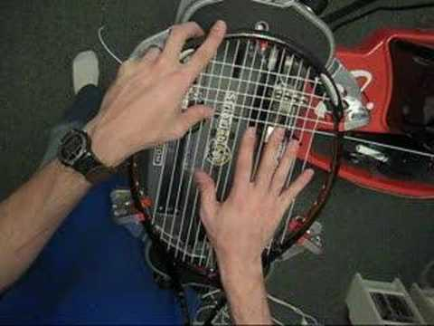 Stringing O3 Racquets Youtube