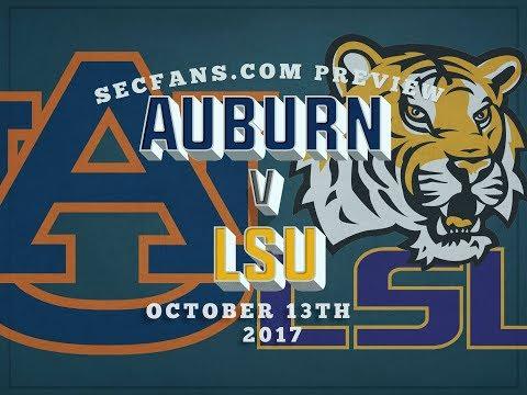 Auburn vs LSU - Preview & Predictions 2017 College Football - AU v LSU