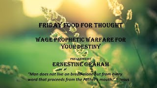 Wage Prophetic Warfare for Your Destiny