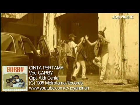 Garby - Cinta Pertama (Original Karaoke Video)