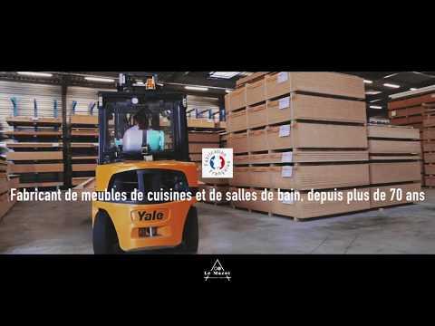 Présentation du site de production Charles Réma - Fabricant de cuisines et de salles de bains