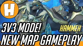 Overwatch Eco Point Antarctica New Map Gameplay!  [3v3] | Hammeh