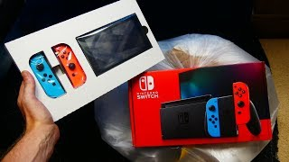 Brand NEW NINTENDO SWITCH FOUND Dumpster DIVING!!