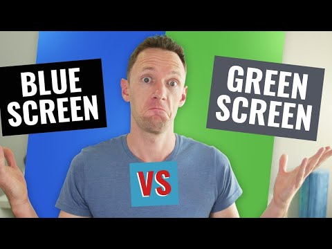Blue Screen Vs Green Screen: Which Should You Use?