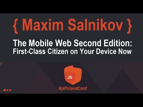 Maxim Salnikov - The Mobile Web Second Edition: First-Class Citizen on Your Device Now