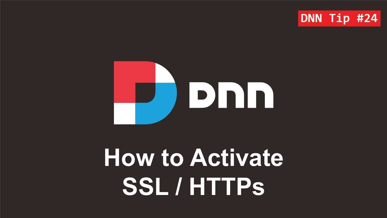 24 how to activate httpsssl dnn tip of the week youtube how to activate httpsssl dnn tip of the week xflitez Images