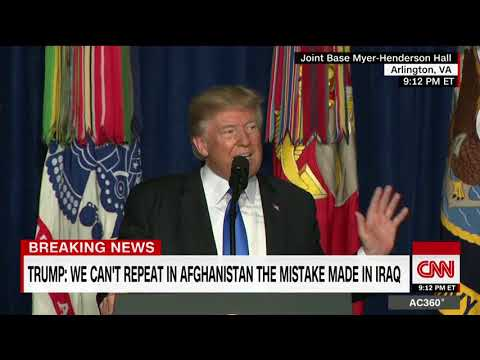 President Trump's full address on Afghanistan