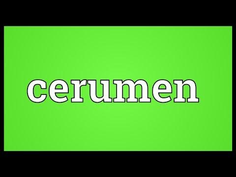 Header of cerumen