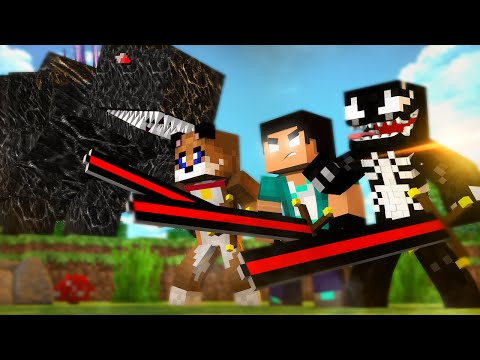 Minecraft: ADEUS MOBZILLA BIG BERTHA POWER NOVO MUNDO  ft RezendeEvil e SR PUPPY 48