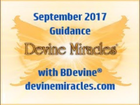 September 2017 Guidance with BDevine®