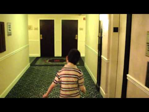 Otis Traction elevator @ Hotel Roanoke w/ Room tour with TJelevatorfan