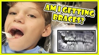 IS TYLER GETTING BRACES? | We Are The Davises