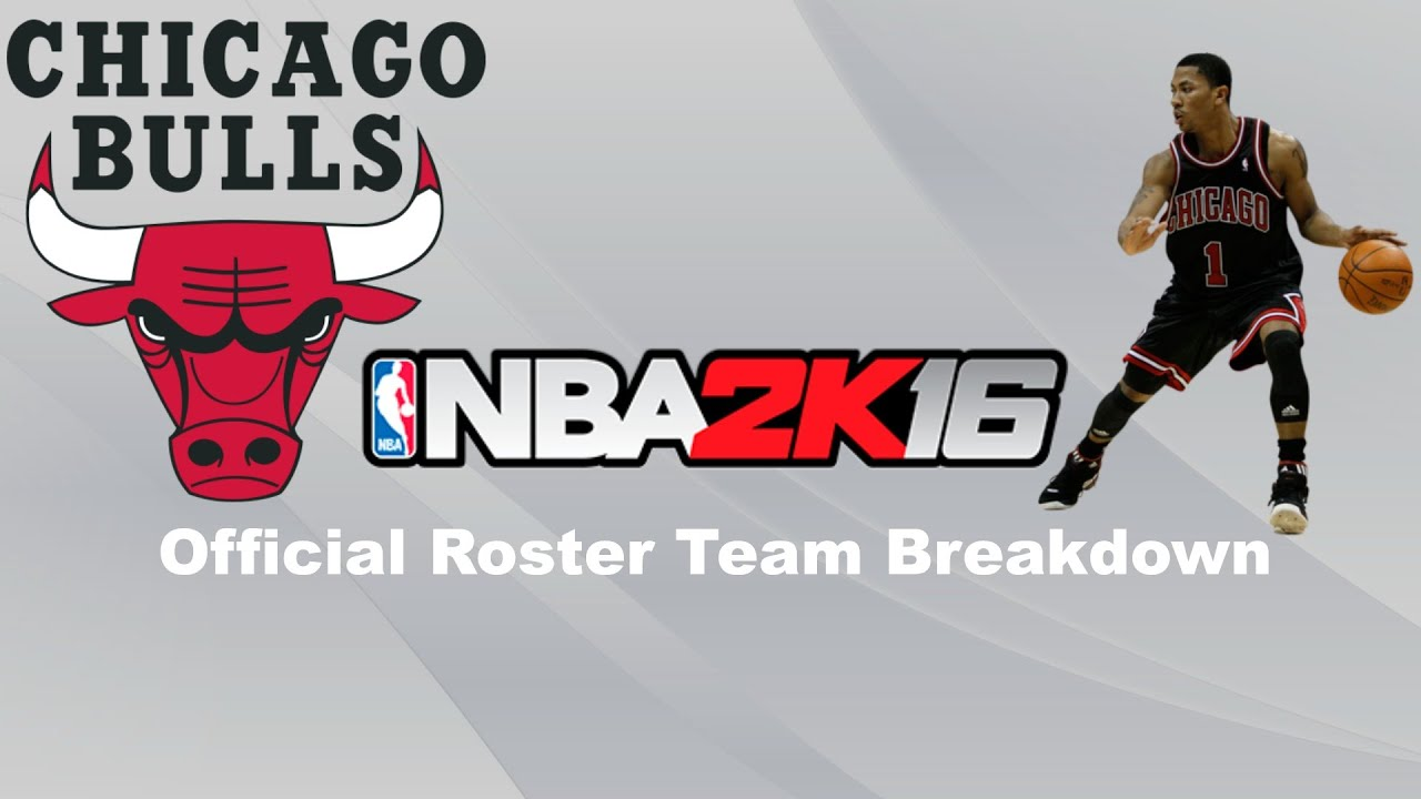 Nba 2k16 official roster breakdown chicago bulls youtube nba 2k16 official roster breakdown chicago bulls voltagebd Images