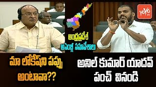 [1.32 MB] Anil Kumar Yadav Clarifies on Comments on Nara Lokesh in AP Assembly | YS Jagan #Chandrababu | YOYO