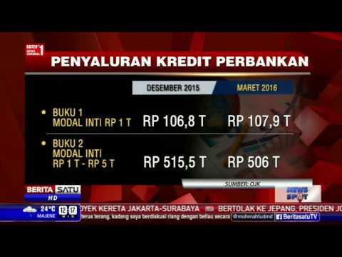 OJK: Maret 2016, Outstanding Kredit Bank Umum Menurun