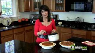 Light Georgia Pecan Pie - Making The Topping