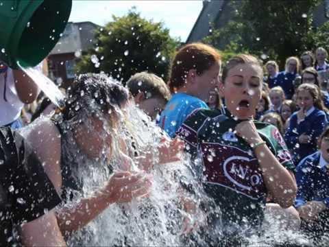 St. Vincent's Secondary School, Dundalk - Ice Bucket Challenge
