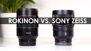 rokinon VS. Sony Zeiss?  Rokinon AF 35mm f/1.4 Sony Lens Autofocus Review