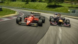 Sebastian Vettel and Gerhard Berger Trade Places (Red Bull Ring)