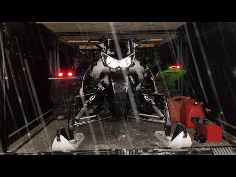 DIY ENCLOSED SLED TRAILER COMPLETE