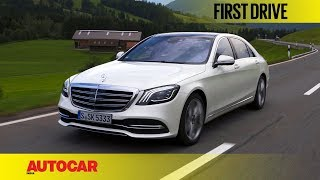 The Mercedes-Benz S-class gets a mid-cycle facelift, and the car th...