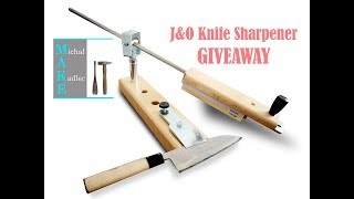 J&O Knife Sharpener GIVEAWAY