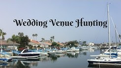 COME WEDDING VENUE HUNTING WITH ME in San Diego, Coronado Cays!