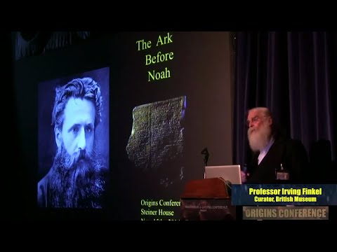 Prof. Irving Finkel: The Story of the Ark Before Noah FULL LECTURE