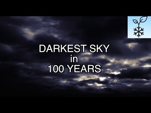 Darkest Skies in 100 Years * No Summer for Iceland * Hail Destroys Crops