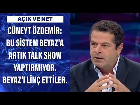 Cüneyt Özdemir: Bu sistem Beyaz'a artık talk show yaptırmıyor. Beyaz'ı linç ettiler…