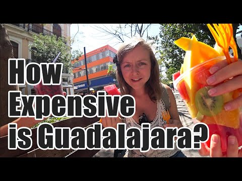 #63. How Expensive is Guadalajara, Mexico? Challenge: Eating Out on $10 Per Day