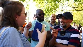 You Blind? Hashim Vs Christian Lady | Speakers Corner | Hyde Park