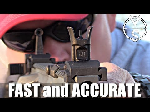Midwest Industries Combat Sights (BUIS)