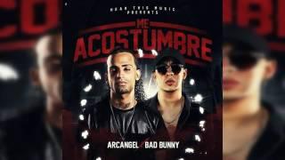 Ya Me Acostumbre Bad Bunny Ft Alcangel (Audio Oficial)
