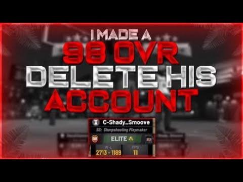 NBA 2K19 I Made A 98 Mascot Delete His Account